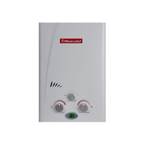 Gas water heater with LED Display