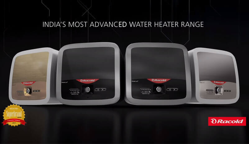 India's most advanced water heater range