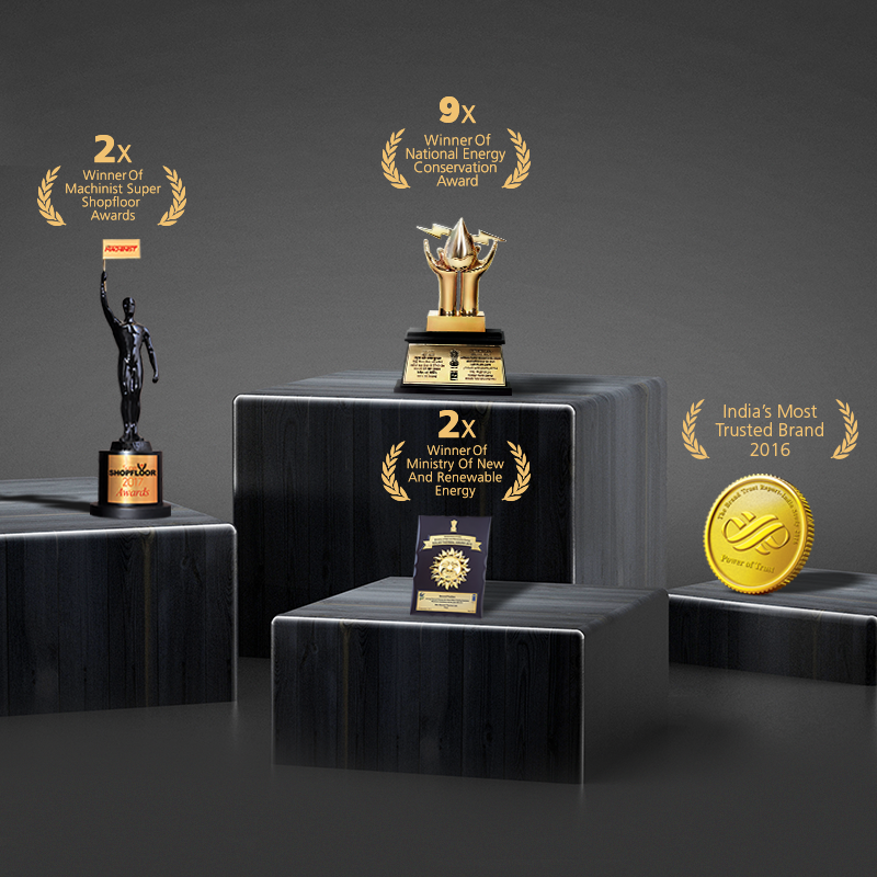 Awards Won by Racold India