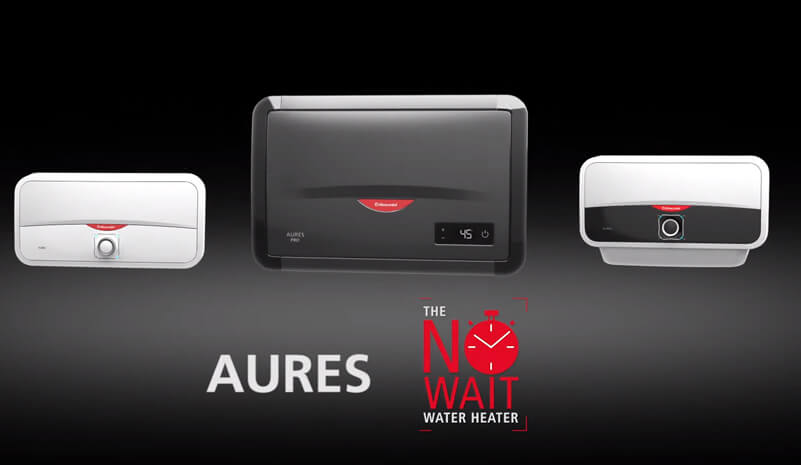 The Aures Launch, The No Wait Water Heater by Racold
