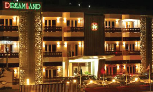 Racold water geyser installed at Hotel Dreamland