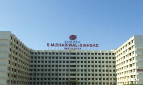 Racold water geyser installed at Sinhgad Technical Institute
